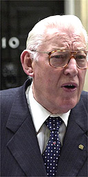 Ian Paisley looking sore